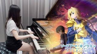 SAO Alicization: War of Underworld ED「unlasting / LiSA」Ru's Piano Cover