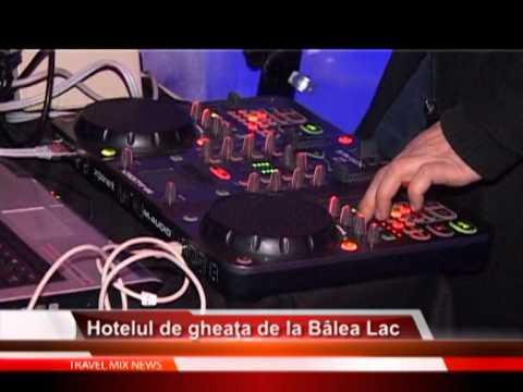 Hotelul de gheta de la Bâlea Lac