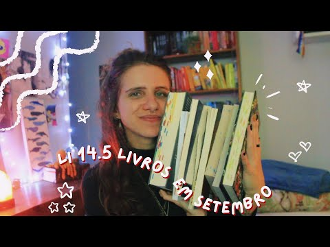 todos livros lidos de setembro (5 estrelas, decepções, classicos e farofinhas)   2021