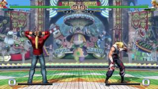 KOF XIV All Characters Losing by Time Standing Position