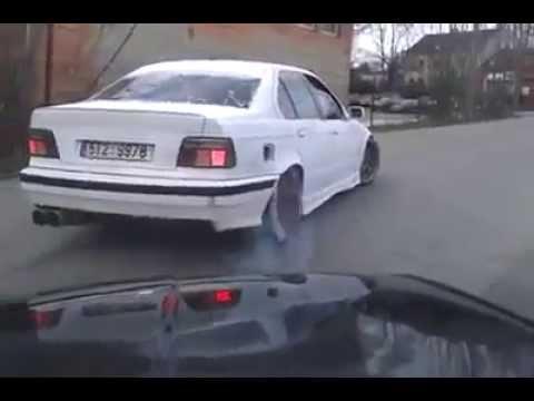Burnout BMW e36 325i