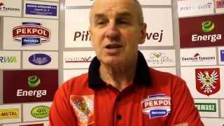 Rozmowa z trenerem Andrzejem Dudźcem