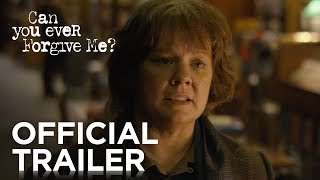 Trailer of Can You Ever Forgive Me? (2018)