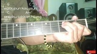 Dhyo Haw - Jarak Dan Kita Acoustic Version (Cover By EasyChord) | Chord/Kunci Gitar Mudah