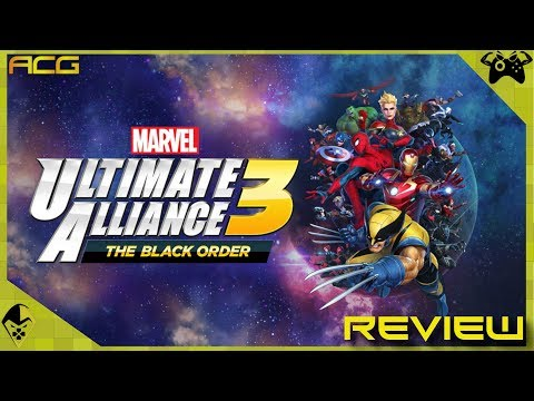 "Marvel Ultimate Alliance 3: The Black Order Review ""Buy, Wait for Sale, Rent, Never Touch?"" - YouTube video thumbnail"