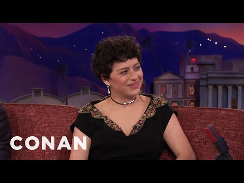 "Alia Shawkat Has 24 Hours Of Sex In ""Duck Butter"" – CONAN on TBS"