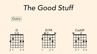 How To Play Guitar On The Good Stuff By Kenny Chesney