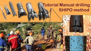 3D Technical Illustration Animation Used In Manual Drilling Video Tutorial