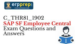How to prepare for SAP SuccessFactors Employee Central Certification for Be