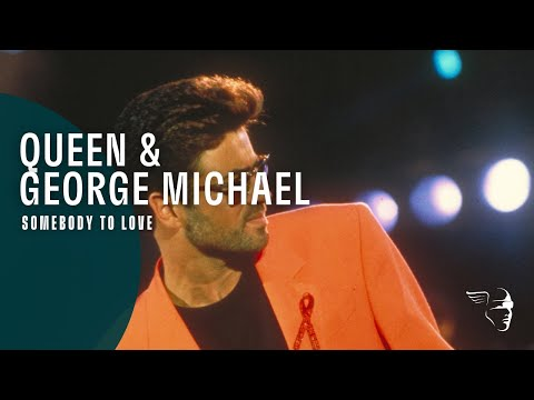 Queen & George Michael - Somebody to Love (The Freddie Mercury Tribute Concert)