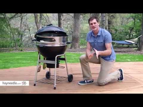 Landmann Pizza Kettle Charcoal Grill – Product Review Video