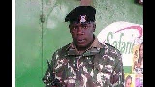 Praises pour in for hero officer Joash Ombati - VIDEO