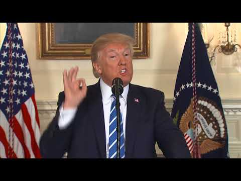 Watch Trump's full speech after returning from Asia