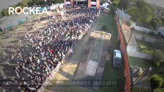 preview picture of video 'Primera Semifinal de Rockea Buenos Aires Provincia 2015 en Ituzaingó'