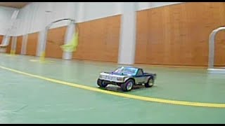 Chasing a drifting rc truck after a racing session | fpv freestyle chase