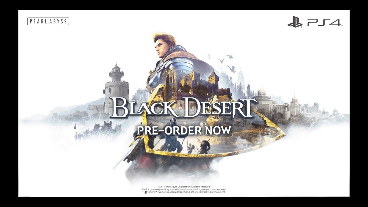 Black Desert arrivera' su PlayStation 4 il 22 Agosto, pre-ordini aperti