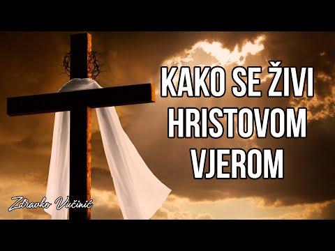 Zdravko Vučinić: Kako se živi Hristovom vjerom