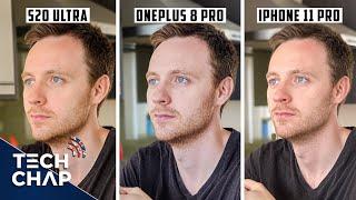 OnePlus 8 Pro vs Samsung S20 Ultra vs Apple iPhone 11 Pro Max CAMERA Comparison!