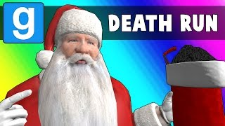 Gmod Deathrun Funny Moments - Santa