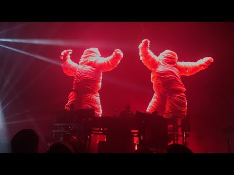 Chemical Brothers LIVE @ Bill Graham Civic Auditorium
