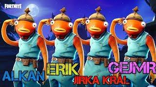 FUNNIEST SQUAD EVER 2! w/ Jirka Král, Gejmr, Alkan