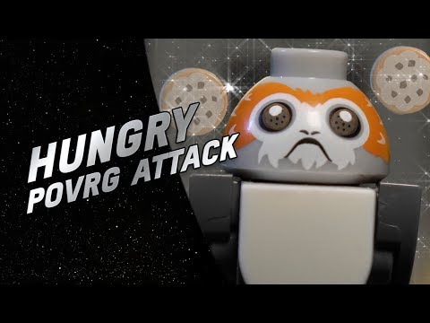 Hungry Porg Attack! - LEGO® Star Wars™ Battle Story