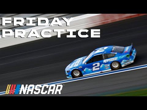 NASCAR コカ・コーラ600(シャーロット・モーター・スピードウェイ)の金曜日の練習走行ハイライト動画