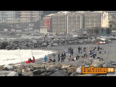 La pesca in Novosibirsk video di Ob