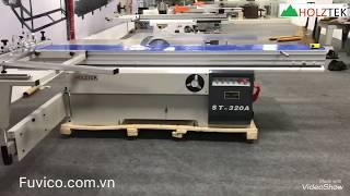 Holztek ST-320A | Máy cưa bàn trượt 2 lưỡi tải nặng Holztek giá tốt nhất TP. HCM