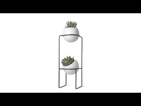 Video for Nesta Tiered Planter