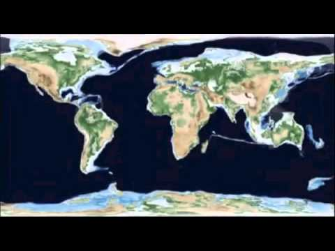 650 million years of plate tectonics in under 2 minutes