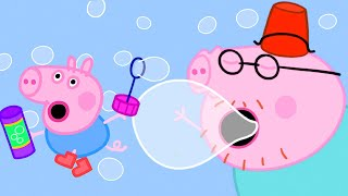 Peppa Pig Official Channel | Daddy Pig's Giant Bubble Burp
