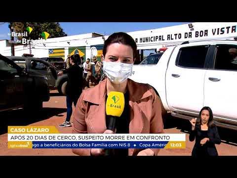 '.Polícia investiga rede de apoio ao criminoso Lázaro Barbosa.'