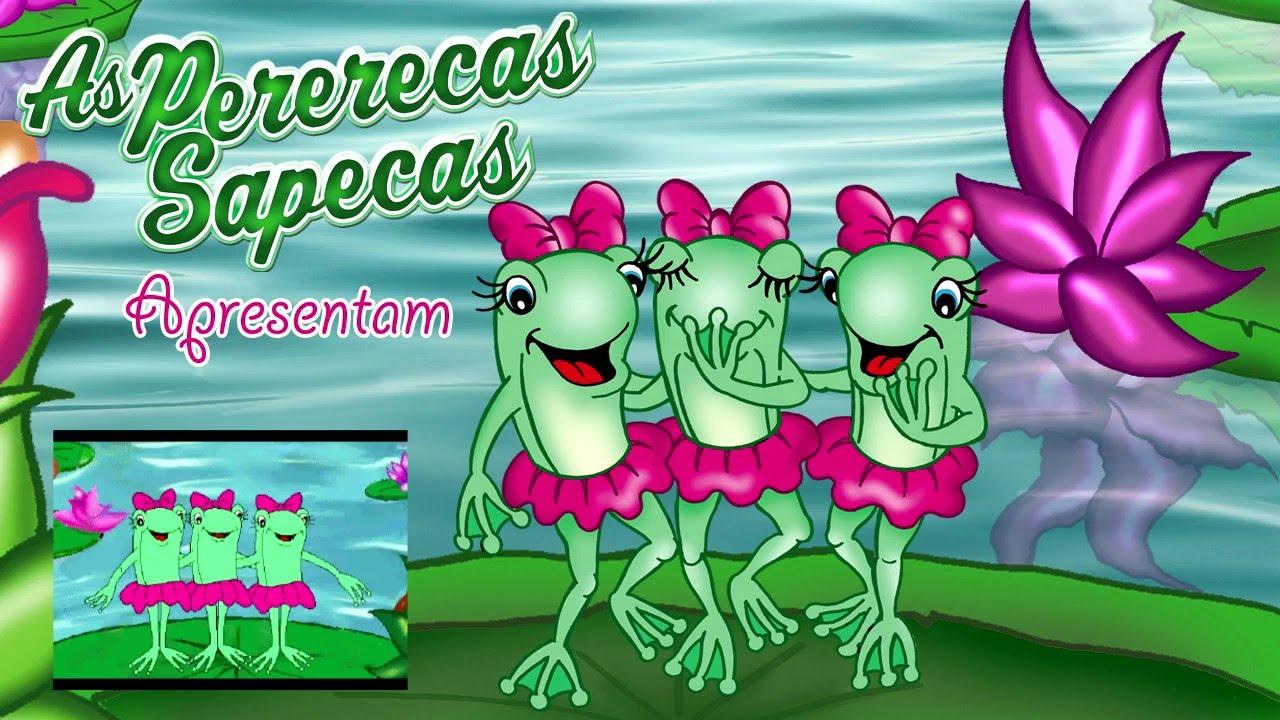 TUBKID E AS PERERECAS SAPECAS - Clip Infantil
