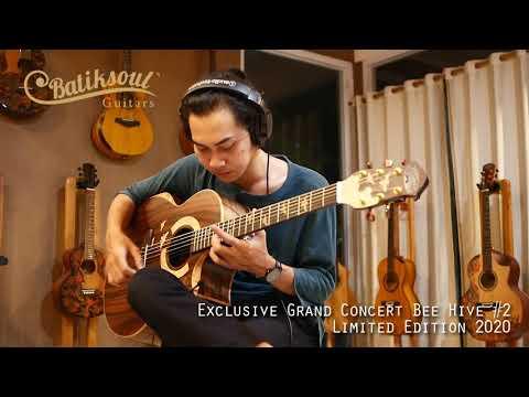 Exclusive Grand Concert Bee Hive #1 - Batiksoul Limited Edition 2020 ( Boutique Guitars )
