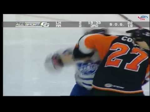 Greg McKegg vs. Adam Comrie