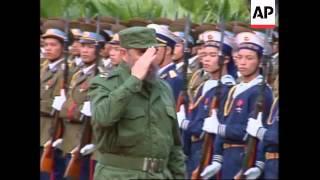 Vietnam - Castro Visit