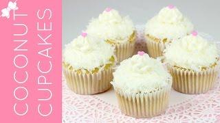 Coconut Cream Cupcakes // Lindsay Ann Bakes