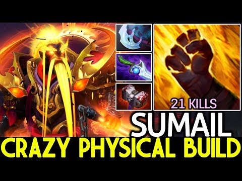 SUMAIL [Ember Spirit] Crazy 100% Physical Build New Meta 7.22 Dota 2