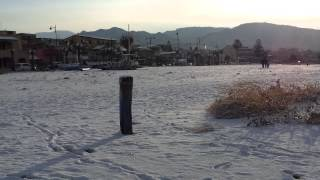 preview picture of video 'Neve a Catona (Reggio Calabria)'