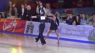 Katkov & Antyufieva Samba | Moscow Championship 2019 Amateur Latin