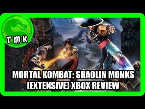 mortal kombat shaolin monks xbox fatalities
