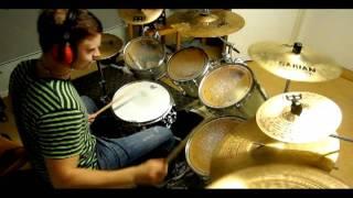 danko jones - had enough drum cover 720p HD