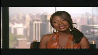 Playing Lil' Kim, was no easy task for singer/actress Naturi Naughton