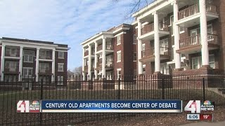Century Old Apartments Become Center Of Debate