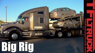 Big Rig Car Transporter: Up Close and Personal (Pt. 2 Follow Up)