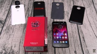Motorola Moto Z2 Force Unboxing And First Impressions!