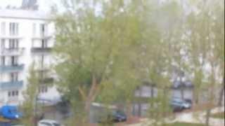 preview picture of video 'La tempête/l'orage à Évreux (27000) le 27/10/2012'