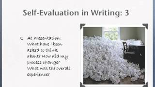 Self-Evaluation: Writing