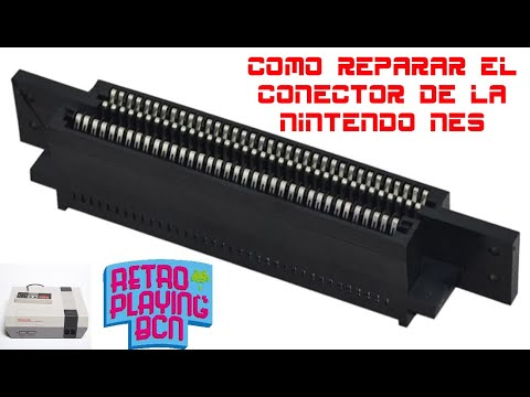 ️ Cómo reparar los errores de lectura en Nintendo NES   Hirviendo el conector!